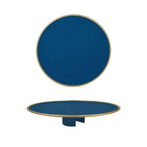 Tampo Boleira - Azul Petroleo Filete - Só Boleiras - Rizzo Embalagens