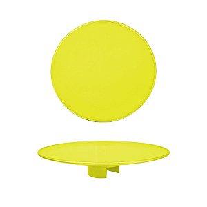 Tampo Boleira - Amarelo Neon - Só Boleiras - Rizzo Embalagens