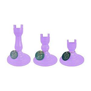 Base Pé Boleira - Lilas - Só Boleiras - Rizzo Embalagens