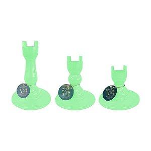 Base Pé Boleira - Verde Agua - Só Boleiras - Rizzo Embalagens
