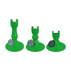 Base Pé Boleira - Verde Limao - Só Boleiras - Rizzo Embalagens