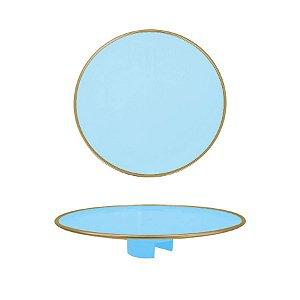 Tampo Boleira - Azul Claro Filete - Só Boleiras - Rizzo Embalagens