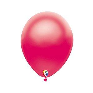 Balão de Festa Látex - Fucsia Cintilante - Sensacional - Rizzo Embalagens