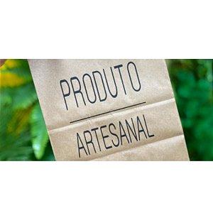 Saco Kraft Decorado Produto Artesanal - 13,5x8x16cm - 10 unidades - Rizzo