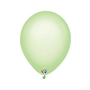 Balão de Festa Látex - Verde Neon - Sensacional - Rizzo Embalagens