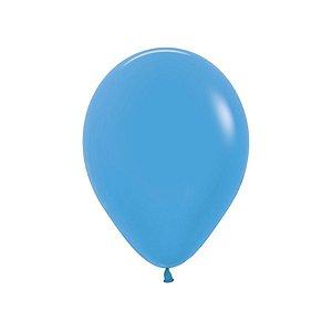 Balão de Festa Látex Neon - Azul - Sempertex Cromus - Rizzo Embalagens