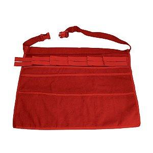 Avental Vermelho para Profissional de Balão 56x35cm - 01 Unidade - Cromus Balloons - Rizzo Embalagens