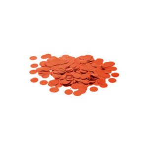 Confete Metalico Redondo para Balão Pacote com 100g - Vermelho - 01 Unidade - Cromus Balloons - Rizzo Embalagens