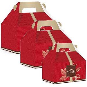 Caixa Maleta Kids Cacau - 10 unidades - Cromus Páscoa - Rizzo Embalagens