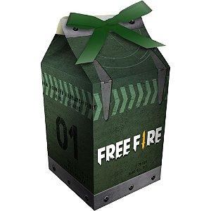 Caixa Milk Festa Free Fire - 08 Unidades - Festcolor - Rizzo Festas