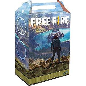 Caixa Surpresa Festa Free Fire - 08 Unidades - Festcolor - Rizzo Festas