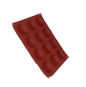 Forma de Silicone Pequena Oval - 01 unidade - ArtLille - Rizzo Embalagens