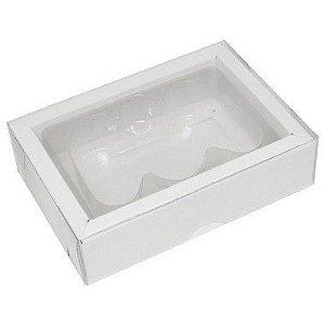 Caixa Controle Game Branca G - 05 unidades - Mod 2 - Crystal - Rizzo Embalagens