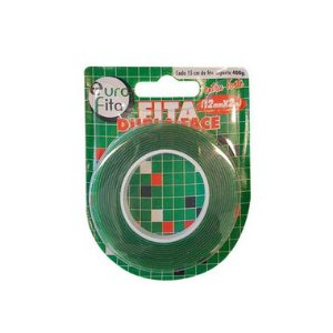 Fita Dupla Face Extra Forte - 12mm x 2m - 01 Unidade - Rizzo Balões