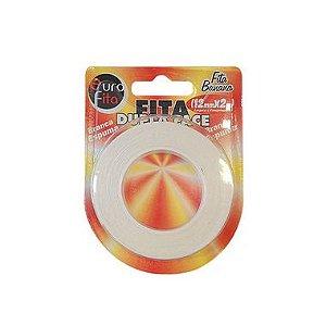 Fita Dupla Face Branca Espuma - 12mm x 2m - 01 Unidade - Rizzo Balões