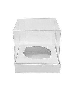 Caixa Mini Bolo P Branca 5x5x5cm - 10 unidades - Assk - Rizzo Embalagens