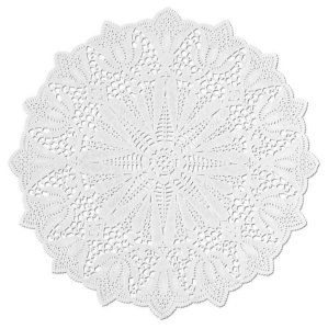 Toalhas Rendadas de Papel Mod. 280 Branca - Mago - Rizzo Embalagens