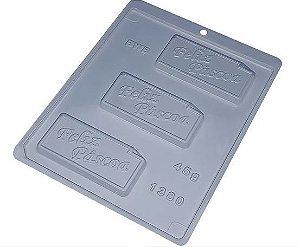 Forma de Acetato Placa 45g Feliz Páscoa 1380 - BWB - Rizzo Embalagens