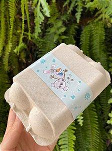 Tiras de Páscoa Boneco de Neve Feliz Páscoa - 05 unidades - Rizzo Embalagens