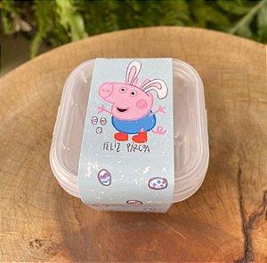 Tiras de Páscoa Porquinha Feliz Páscoa para Embalagens - 05 unidades - Rizzo Embalagens