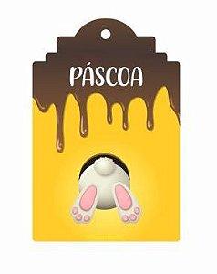 Tag Decorativa Páscoa - 12 unidades - Duster Festas - Rizzo Embalagens