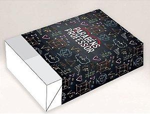 Caixa Divertida para 6 doces - Professor Crianças Ref. 1064 - 10 unidades - Erika Melkot - Rizzo Embalagens