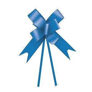 Laço Fácil Azul - 10 unidades - Cromus - Rizzo Embalagens