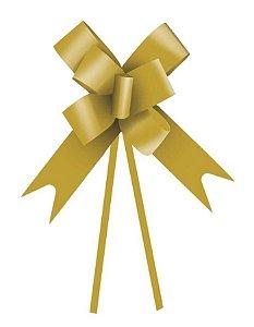 Laço Fácil Ouro - 10 unidades - Cromus - Rizzo Embalagens