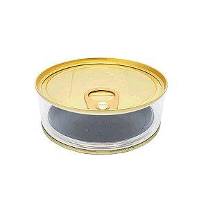 Enfeite Plastico Lata Baixa Tipo Atum Dourada - 6 Unidades - Art Lille - Rizzo Embalagens