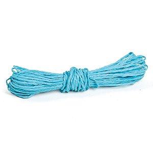 Fio Decorativo Torcido 5 metros Azul Claro - Cromus Páscoa - Rizzo Embalagens