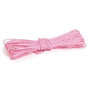 Fio Decorativo Torcido 5 metros Rosa Claro - Cromus Páscoa - Rizzo Embalagens