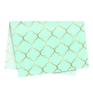 Papel de Seda - 49x69cm - Núria Azul - 10 folhas - Rizzo Embalagens