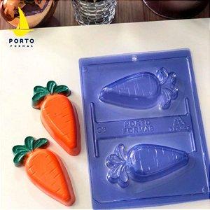 Forma de Acetato Cenoura Recheada Ref 96 - Porto Formas - Rizzo Embalagens