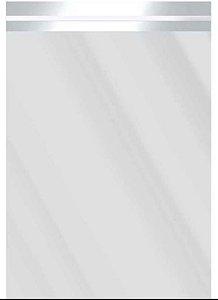 Saco Metalizado com Aba Adesiva Prata 10x13,5cm - 50 unidades - Cromus - Rizzo Embalagens