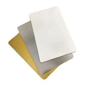 Base para Bolo Cake Board Retangular 35x20cm - 01 unidades - Ultrafest - Rizzo Embalagens