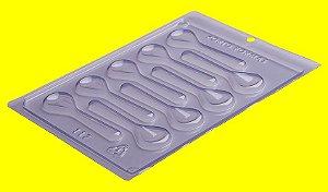 Forma de Acetato Colherzinhas - Cód.117 - Porto Formas  - Rizzo Embalagens