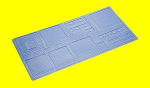 Forma de Acetato Casinha do Coelho Ref 861 - Porto Formas - Rizzo Embalagens