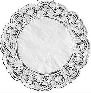 Toalhas Rendadas de Papel Mod. 380 Branca - Mago - Rizzo Embalagens