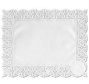 Toalhas Rendadas de Papel Mod. 2520 Branca - Mago - Rizzo Embalagens