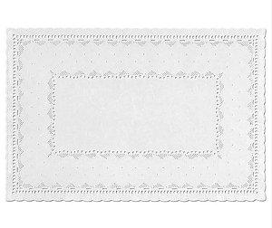 Toalhas Rendadas de Papel Mod. 3725 Branca - Mago - Rizzo Embalagens