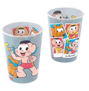 Copo de Plástico Festa Cascao 320Ml - Plasútil - Rizzo Festas