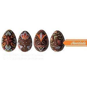 Blister Decorado com Transfer para Chocolate Ovinhos BLP0136 Stalden Rizzo Embalagens