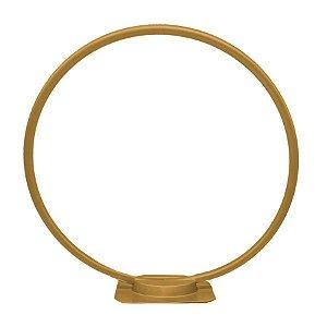 Arco de Mesa para Balão - Dourado - Rizzo Embalagens