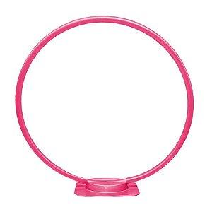 Arco de Mesa para Balão - Rosa Chiclete - Rizzo Embalagens