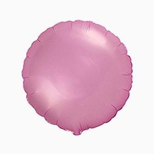 """Balão de Festa Metalizado 20"""" 50cm - Redondo Pink Flamingo - 01 Unidade - Flexmetal - Rizzo Embalagens"""