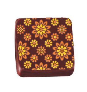 Transfer para Chocolate Girassol - TRG 8069 04 - Stalden - Rizzo Embalagens