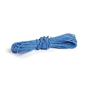 Fio Decorativo Torcido Azul Escuro - 5 metros - Cromus Páscoa - Rizzo Embalagens