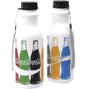 Garrafa Retrô Coca Cola Branca 500ML - 1 unidade - Plasútil