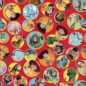 Folha para Ovos de Páscoa Toy Story 69x89cm - 05 unidades - Páscoa Cromus - Rizzo Embalagens