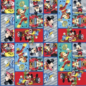 Folha para Ovos de Páscoa Mickey 69x89cm - 05 unidades - Páscoa Cromus - Rizzo Embalagens